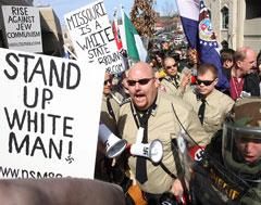 Protestors disrupt march
