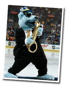 Blues Mascot