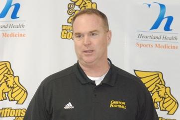 Griffon's Coach Jerry Partridge