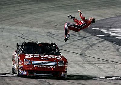 Carl Edwards' Celebration Ritual