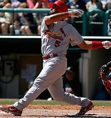 Hitting not an issue, Pujols hits his 4th home run this spring