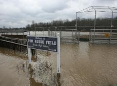 Tom Russo Field flooded