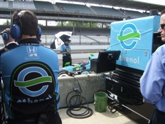 Ethanol in Indy 500