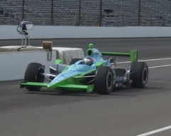 Indy car on Ethanol