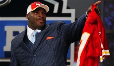 Dorsey on NFL draft day