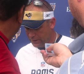 head coach Scott Linehan