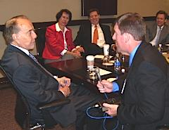 Steve interviews Senator Bob Dole