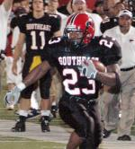Henry Harris (photo by Stan Crader, SEMO athletic website)
