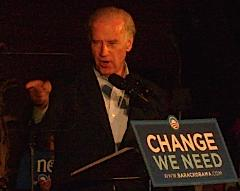 Democratic VP candidate Joe Biden in Jefferson City