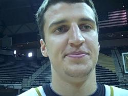 Matt Lawrence, senior guard at Missouri