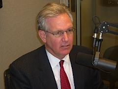 Democratic gubernatorial candidate Jay Nixon