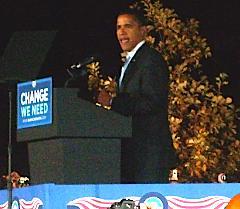 Barack Obama at MU