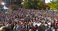 Thousands flock to Capitol to see Sarah Palin