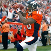 Brandon Marshall pulls in the game winner