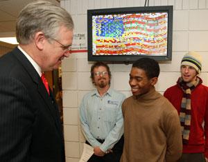 Governor-elect Jay Nixon