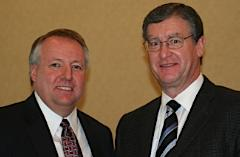 New MRP Chairman David Cole / Former MRP Chairman Doug Russell