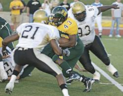 Renard Johnson, #43 (photo courtesy Joplin Globe)