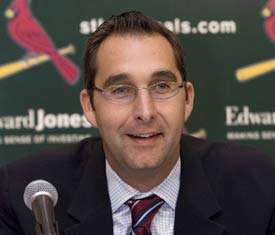 Cards GM John Mozeliak