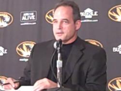 Gary Pinkel at Mizzou's signing day