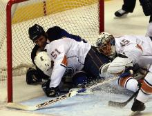 The Blues get shut down by Oilers