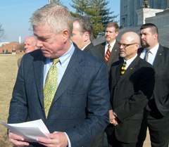 Lieutenant Governor Kinder and state lawmakers