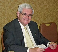 Former US House Speaker Newt Gingrich