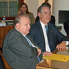 Appropriations/Budget Committee Chairmen: Senator Gary Nodler (L) and Representative Allen Icet (R)