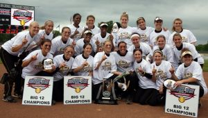 Mizzou Softball, Big 12 champs