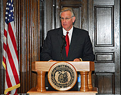 Governor Nixon's end of session news conference