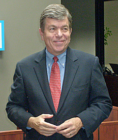 Congressman and U.S. Senate Candidate Roy Blunt
