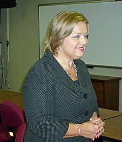 Education Commissioner Chris Nicastro