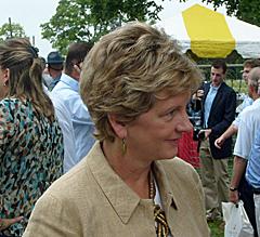 U.S. Senate Candidate Robin Carnahan