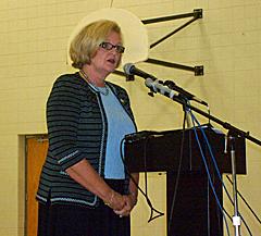 Senator Claire McCaskill at Jefferson City town hall
