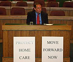 Former State Senator Chuck Graham