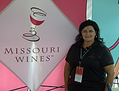 Missouri Wines Marketing Director Danene Beedle