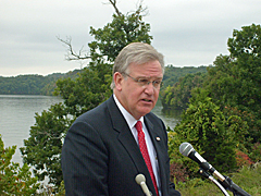 Governor Nixon's Lake of the Ozarks news conference