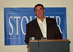 State Senator and Congressional Candidate Bill Stouffer
