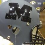 Mizzou's Pro Combat Helmet