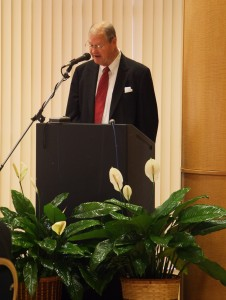 Congressman Ike Skelton addresses Veterans Day breakfast