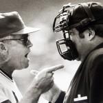 In 1985, Whitey Herzog argues with umpire John McSherry, Bill Greenblatt UPI file phot