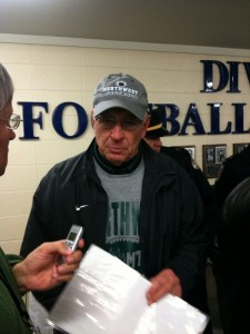 Northwest Missouri Head Coach Mel Tjeerdsma