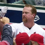 Mark McGwire in 2000 (Bill Greenblatt, UPI)