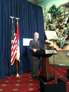 Lieutenant Governor Peter Kinder delivers response to State of State Address