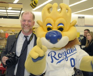 Sluggerr in much happier times with Missourinet's Brent Martin