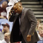 Missouri State Bears head basketball coach Cuonzo Martin. UPI/Bill Greenblatt