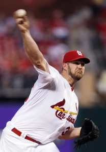 St. Louis Cardinals starting pitcher Brad Penny delivers a pitch against the Houston Astros. UPI/Bill Greenblatt