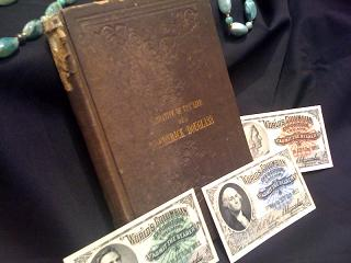 """The Narrative of the Life of Frederick Douglass,""  and tickets from the 1893 World's Columbian Exposition in Chicago"