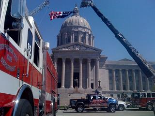 Missouri Fallen Fire Fighters Memorial Service at the Capitol