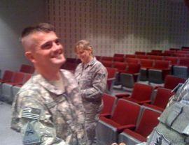Lt. Col. Dan Frickenschmidt