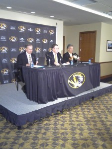 (l-r) Gary Forsee, Brady Deaton and Mike Alden